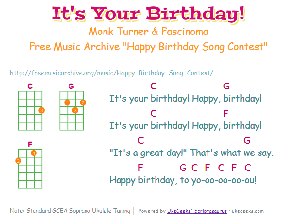 Its Your Birthday Wins Birthday Song Replacement Contest